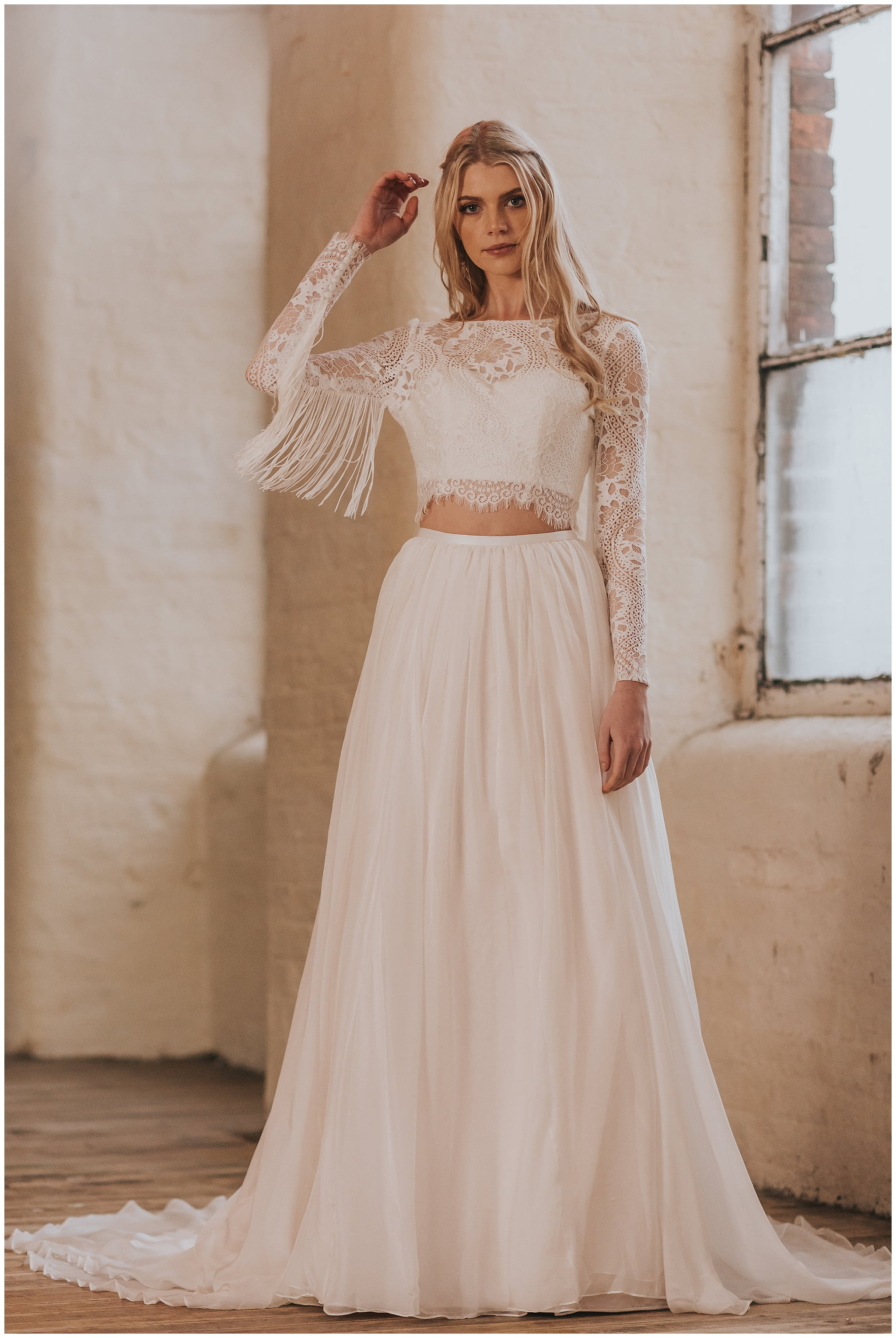 Two piece wedding dress choice image wedding dress for Wedding dress rental denver co