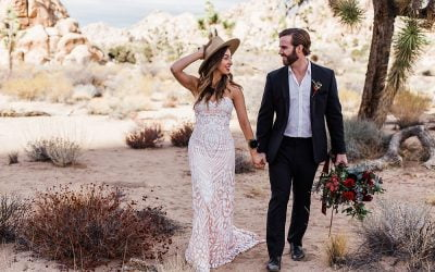CAITLIN AND MARK JOSHUA TREE ELOPEMENT