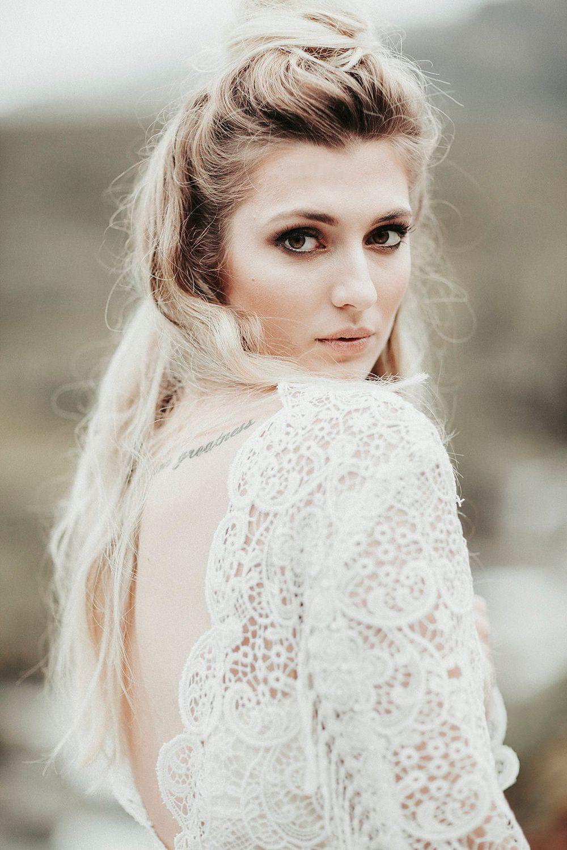 India and Tom - A Boho Wedding Elopement Shikoba Bride