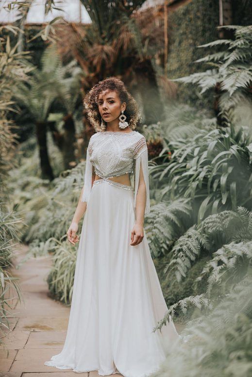 Arlo Shikoba Bride boho wedding dress